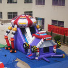 Inflatable Bouncy Castle Bounce House Oxford Cloth Material Customized Color