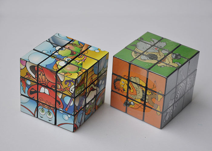 Promotional Plastic Custom Magic Cube 3X3 Custom Speed Cube Puzzle Toy