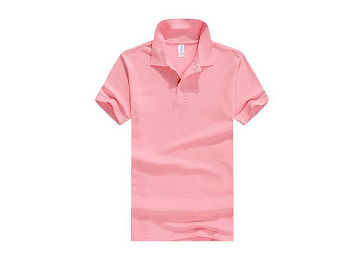 Mens Polo Golf Sport Shirts Cotton Short Sleeve For Promotional Gifts