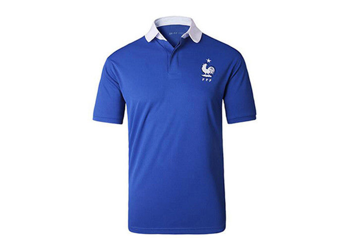 Full Color Promotional T Shirts Printed Sport T Shirt Polo With Logo