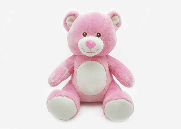 Advertising Cute Promotional Plush Toys Personalized Bear Gifts With Keychain