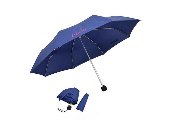 Travel Portable Rain Umbrella Advertising Personalised Golf Umbrella With Logo Printing