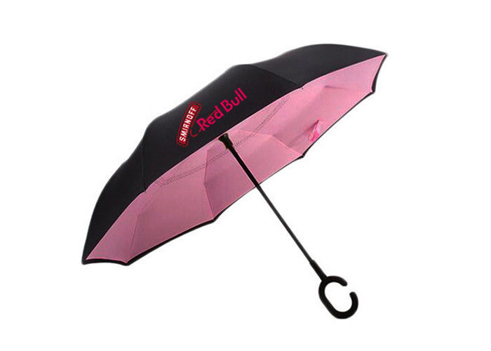 Folding Umbrella Promotional Gifts Travel Car Inverted Umbrella For Advertising