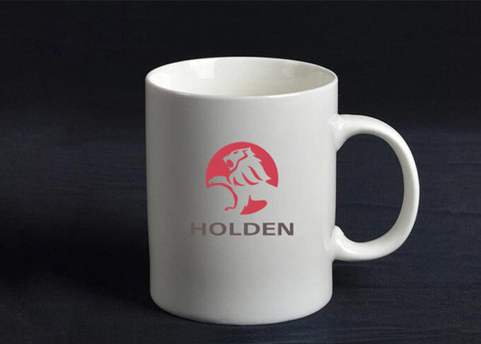 Advertising Promotional Ceramic Mugs Sublimation Printed With Lid