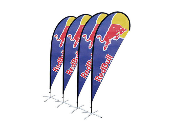 Digital Printing Polyester Outdoor Advertising Flag Promotional Flag Banners With Logo