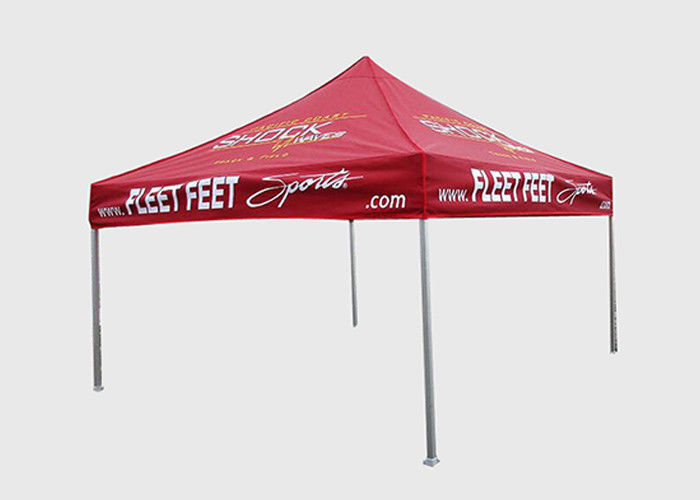 Outdoor Display Folding Event Tent Custom Logo With Aluminum / Steel / Iron Frame
