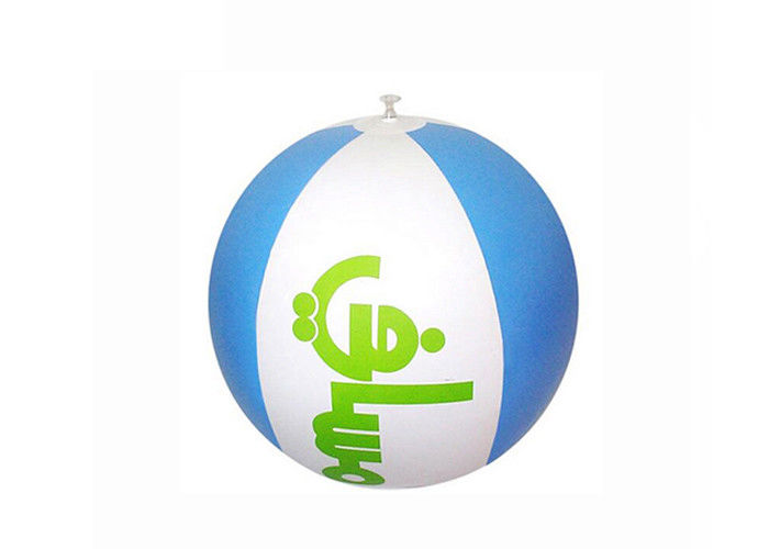 Full Color Plastic Inflatable Beach Ball Inflatable Swimming Pool Toys For Advertising