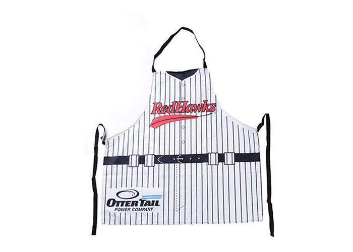 Recyclable Canvas Chef Apron Custom Logo With Heat Transfer Printing