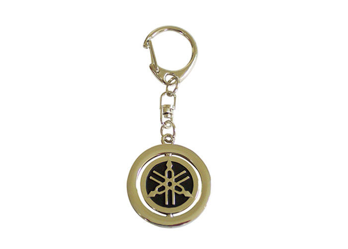 Car Souvenir Promotional Metal Keychains 3D Zinc Alloy For Decoration