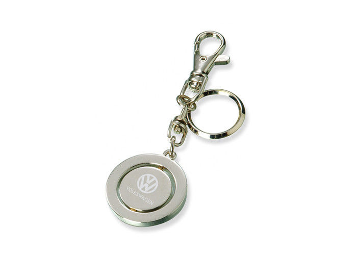 Corrosion Resistance Promotional Metal Keychains With Custom Logo