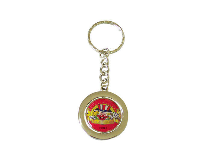 Logo Printing 3d Custom Metal Keychains Anti Corrosive Promotional Magnet Keychains