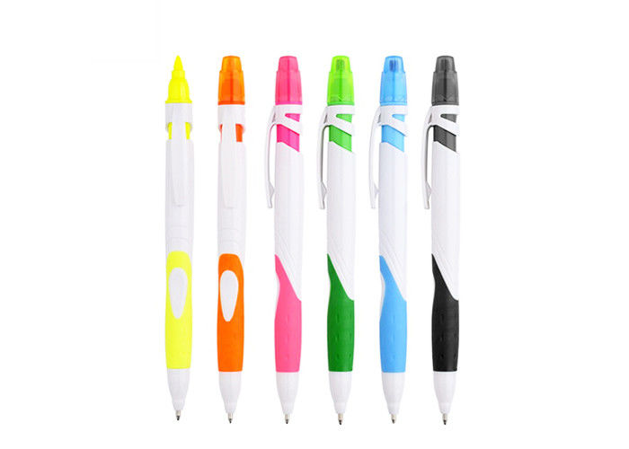 Multi Functional Personalised Ballpoint Pen Gift Plastic ABS For School , Business