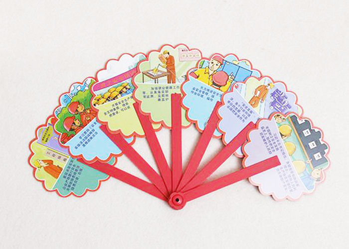 Folding Wooden Custom Hand Fans Portable Personalized Hand Fans For Promotional Gifts