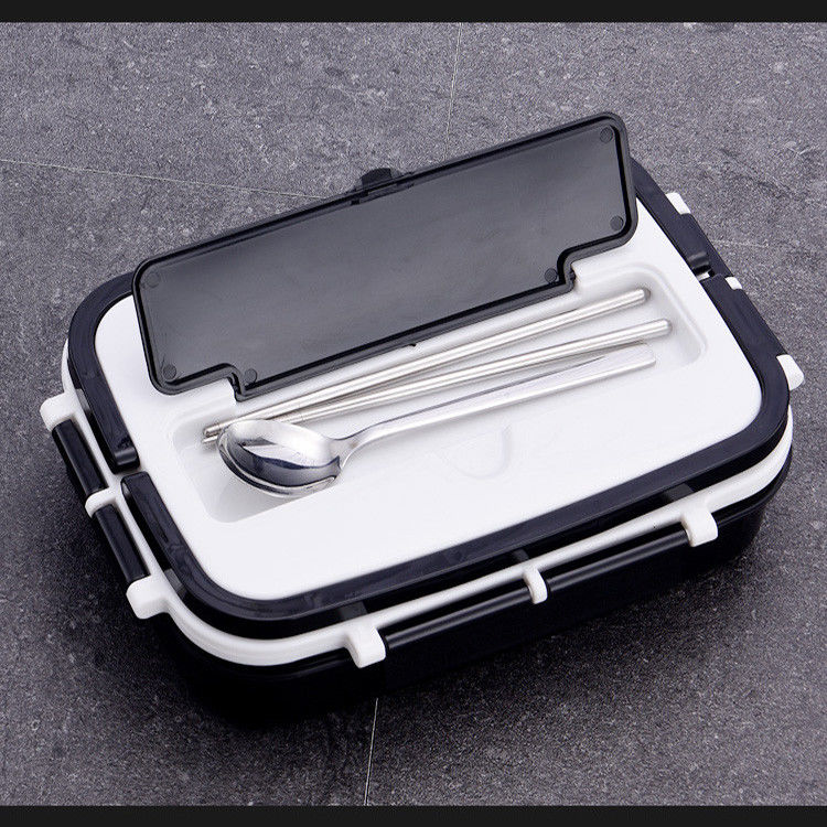 Leak Proof Thermal Stainless Steel Custom Logo Lunch Box Eco - Friendly